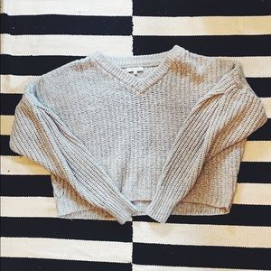 Madewell🔹 Cropped V-neck sweater